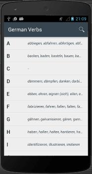 Les Verbes Allemands Ios Et Android